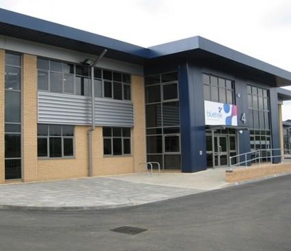 Aluminium Windows on company building