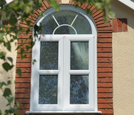 Casement Window with arch top