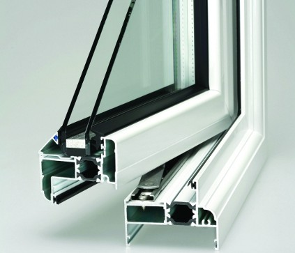 Double Glazed window cross section