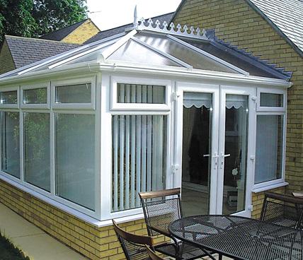 Edwardian Conservatory corner view