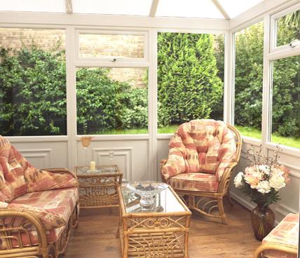 Edwardian Conservatory interior view
