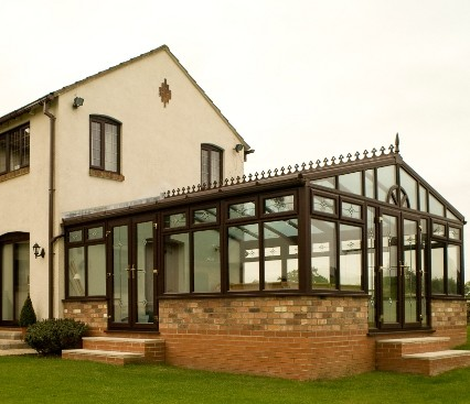 Large Gable Conservatory