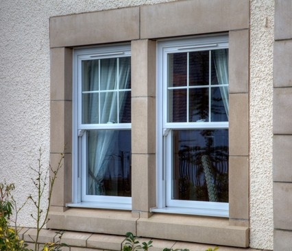Vertical Sliding Windows side view